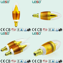 5W CREE Chip Scob 90ra E14 vela bulbo (LS-B305-SB-CWW / CW)