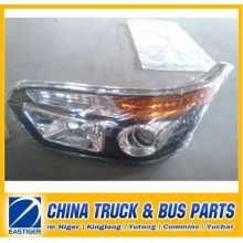 China Bus Teile von 236100220 Kopf Lampe für Higer Bodyparts