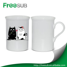 Hotsale wholesale China 10 OZ white new bone china mug