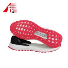 Nuevo diseño de moda zapatos planos suela TPR