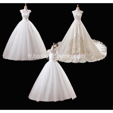 Robes de mariée blanches Fabricant