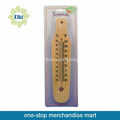 Hot sell wooden garden wall thermometer