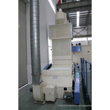 Abridor de fibras en maquinaria no tejida