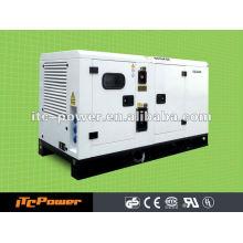 Бесшумный дизельный генераторный комплект ITC-POWER (20кВА) электрический