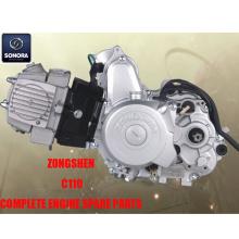 Zongshen C110 Ολοκληρωμένα ανταλλακτικά κινητήρων Γνήσια ανταλλακτικά