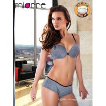 Miorre OEM Wholesale Women Full Support Bra & Hipster Panty Set 1 Size Bigger