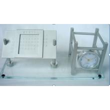 Reloj de regalo de aluminio para Hotel Bank (DZ48)