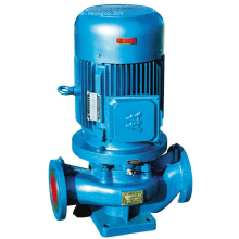 Pompe centrifuge à circulation d'eau d'incendie série ISG