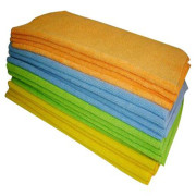 400gsm High Quality Car Stripe Fabric Towels