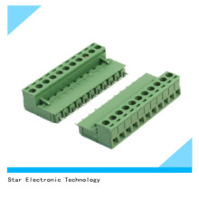 China Fabrik 11 Pin 5,08 mm Pitch PCB Schraubenmontage Terminal Block