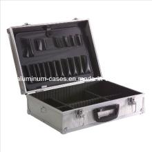 Custom Made Silver Aluminium Tool Box Tool Case Tool Kit