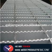 Q235 ss400 a36 aleación galvanizada ligera rejilla de acero plana de la barra