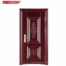 TPS-077 puerta de entrada de seguridad al por mayor interior de la miel de papel de relleno puerta de seguridad de acero