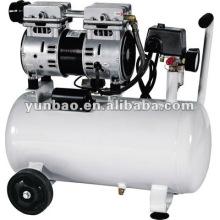 Preço direto do compressor de ar isento de óleo