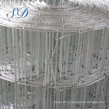 Engranzamento de fio soldado galvanizado barato do reforço 6x6