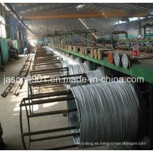 Alambre de acero inoxidable, alambre de acero, alambre del goteo del aceite