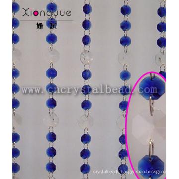 Blue Door Or Window Decorative Beads Curtain