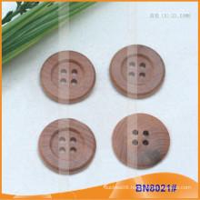 Natural Wooden Buttons for Garment BN8021