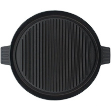 14-Inch Cast Iron Reversible Griddle Cookware Cooking Grill Round