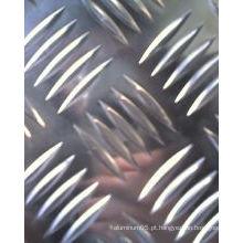 Folha de alumínio (5 bares)