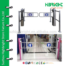 automatic supermarket electric swing extrance gate