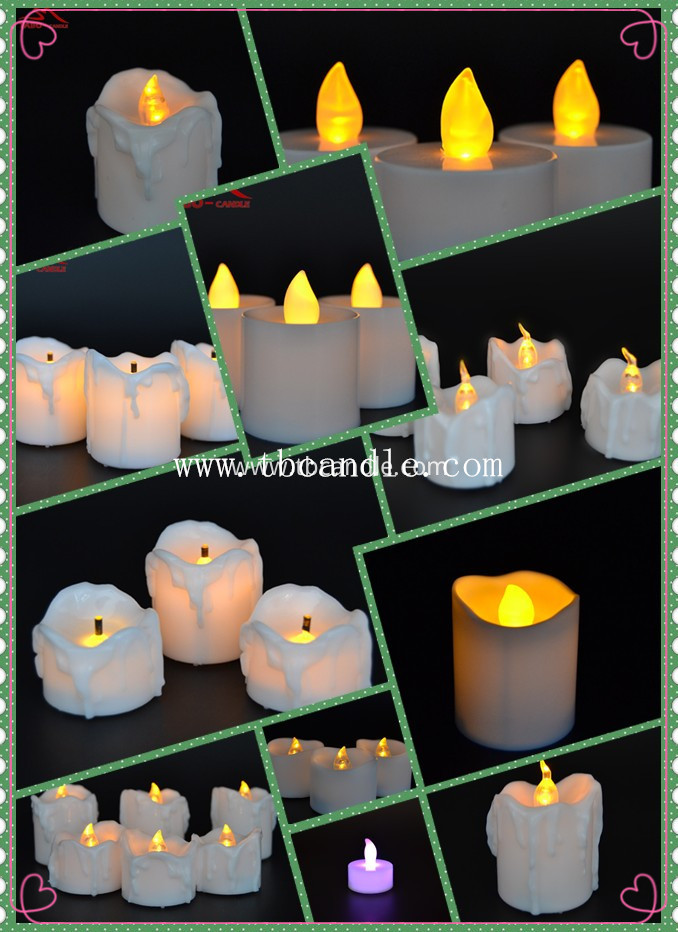 battery operated led tea light candle