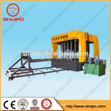 Máquina de configuração final hidráulica, Máquina de polimento de cabeça de prato, Máquina de dobragem de cabeça irregular (máquina de cabeça plana)