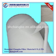 synthetic fiber pre-filter media/air filter roll material for furniture paint