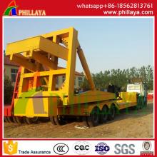 Lenkbarer ausziehbarer Ausrüstungs-Transport-Wind-Energie-Blatt-hydraulischer Anhänger