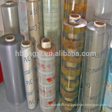 2mm super clear transparent pvc sheet