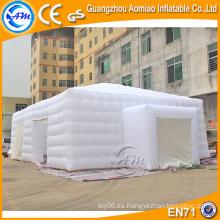 Tienda inflable blanca del césped del tamaño grande del precio bajo, tienda de campaña inflable para la venta