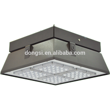 China bright led canopy light 120w with DLC and ETL listed