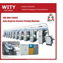 2015 MÁS NUEVA Máquina de impresión automática de rotograbado de registro rentable YAD-A5