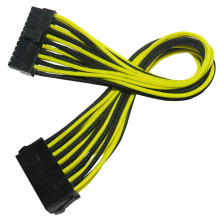 Sleeved 24pin ATX Power Extension Cable Harness