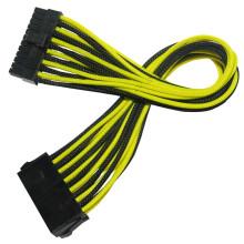 Рукавами 24pin ATX питания расширение кабельная обвязка