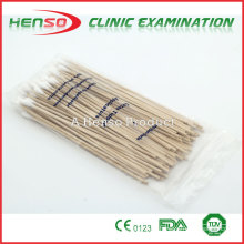 Aplicadores Henso para uso hospitalario con punta de algodón