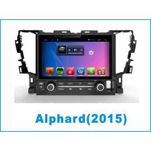 Navegação do sistema Android GPS carro DVD para Toyota Alphard com Bluetooth / TV / WiFi / MP4