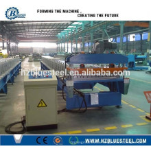 Color Steel Corrugated Roof Sheet Roll Forming Machine / Roofing Tile Sheet Forming Machine