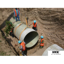 FRP Sand Füllen Rohre verwendet am Strand Meer oder Fluss