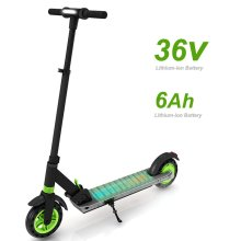 8 inch Adjustable Electric Scooter Pure