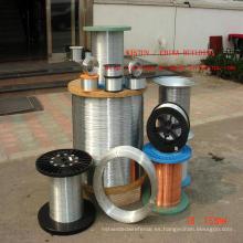 Alambre de unión de acero galvanizado, alambre vinculante Gi, alambre de hierro