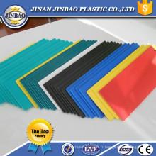Conseil imperméable de couleur de piscine de PVC de couleur imperméable à l'eau