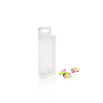 Petite boîte d'emballage sous blister transparent en acétate