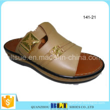 Import Best Sale PVC Upper Flange Outsole Slippers
