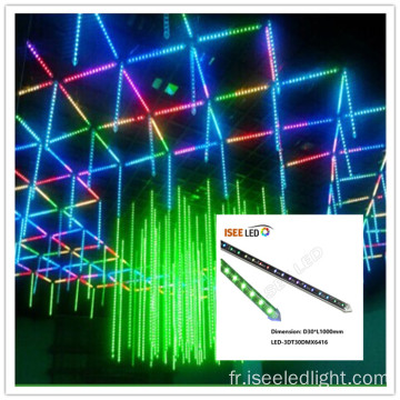 Disco Stage 3d conduit le tube vertical 1m