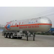 13m Liquefied Gas Transport Semi Trailer 23.6Tons