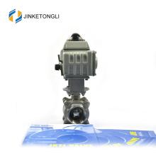 JKTLEB095 automated quarter turn mini chrome plated ball valve