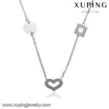 43433-xuping fashion pas cher en vrac bijoux coin collier de bijoux