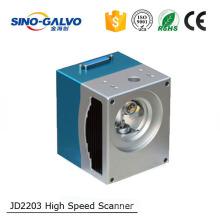 High Cost-Effective JD2203 fiber laser galvo scanner