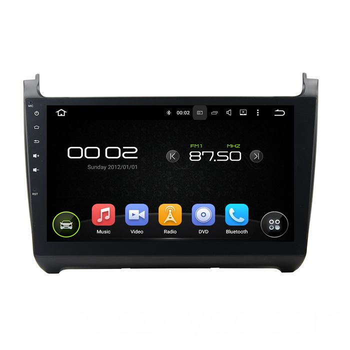 10.1inch car mp3 player for Polo